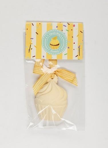 Missi Cupcake Hediye Seti Asmalı Taş Sarı